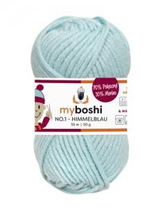 My Boshi No 1. - 50g Himmelblau 151 Lieblingsfarben - Wolle kaufen - Handarbeit kaufen