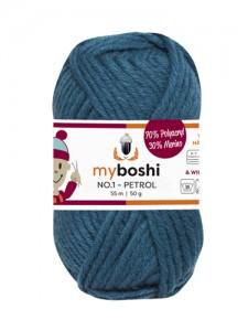 My Boshi No 1. - 50g Petrol 154 Lieblingsfarben - Wolle kaufen - Handarbeit kaufen