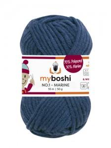 My Boshi No 1. - Marine 155 Lieblingsfarben - Wolle kaufen