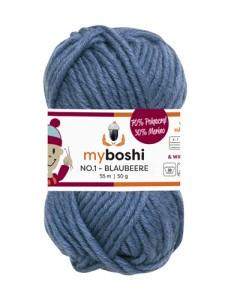 My Boshi No 1. - Blaubeere 157 Lieblingsfarben - Wolle kaufen