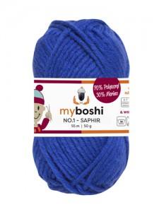 My Boshi No 1. - Saphir 159 Lieblingsfarben - Häkelgarn kaufen