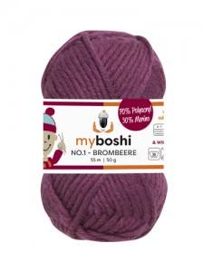 My Boshi No 1. - Brombeere 164 Lieblingsfarben - Häkelgarn kaufen