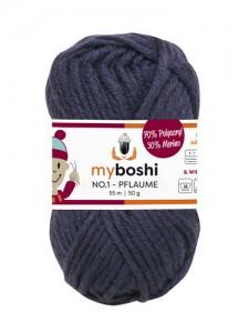 My Boshi No 1. - Pflaume 165 Lieblingsfarben - Häkelgarn kaufen