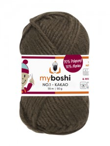 My Boshi No 1. - Kakao 174 Lieblingsfarben - Häkelgarn kaufen