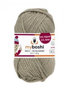 My Boshi No 1. - Schlamm 175 Lieblingsfarben - Häkelgarn kaufen