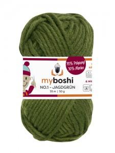 My Boshi No 1. - Jagdgrün 129 Lieblingsfarben - Häkelgarn kaufen