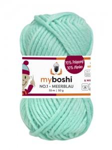 My Boshi No 1. - 50g Meerblau 158 Lieblingsfarben - Häkelgarn kaufen - Handarbeit kaufen