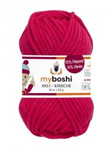My Boshi No 1. - 50g Kirsche 166 Lieblingsfarben - Häkelgarn kaufen - Handarbeit kaufen