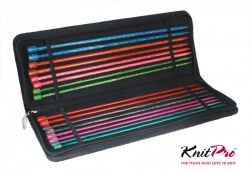 Jackennadeln Set KnitPro Dreamz aus Holz 35cm Lang