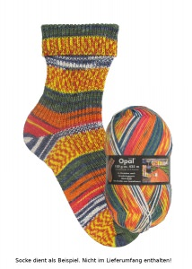 Opal Hundertwasser Sockenwolle - 1430 Die Straße zum Sozialismus