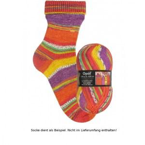 1434 Wartende Häuser - Opal Hundertwasser Sockenwolle 100g - Handarbeit kaufen