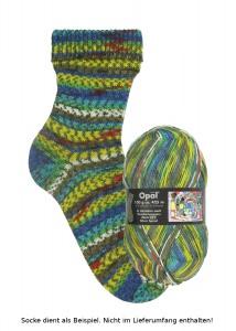 Opal Hundertwasser Sockenwolle - 1433 Silver Spiral