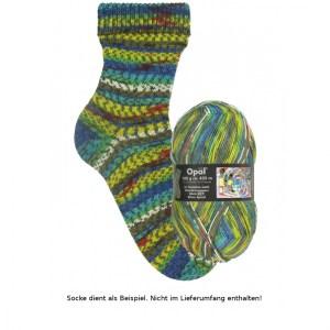 1433 Silver Spiral - Opal Hundertwasser Sockenwolle 100g - Handarbeit kaufen
