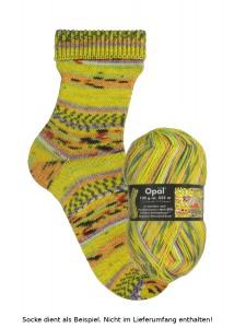 Opal Hundertwasser Sockenwolle - 1431 Positive Seelenbäume