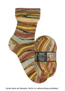 Opal Hundertwasser Sockenwolle - 1436 Seeschlange