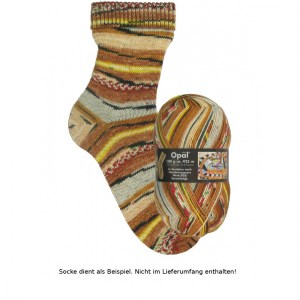 Opal Hundertwasser Sockenwolle 100g - 1436 Seeschlange - Handarbeit kaufen