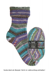 Opal Hundertwasser Sockenwolle - 2106 Regen auf Regentag