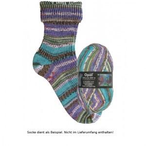 Opal Hundertwasser Sockenwolle - 2106 Regen auf Regentag - Handarbeit kaufen