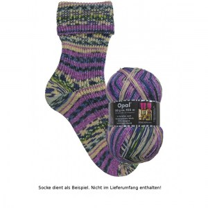 Opal Hundertwasser Sockenwolle 100g - 3203 Imagine Tomorrow's World - Handarbeit kaufen