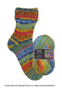 Opal Hundertwasser Sockenwolle - 3200 Kuss im Regen