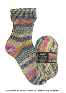 Opal Hundertwasser Sockenwolle - 2107 Der Weg von dir zu mir zurück