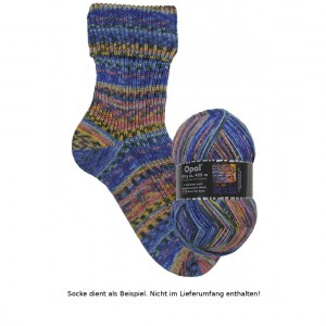 3207 Save the Seas - Opal Hundertwasser Sockenwolle 100g