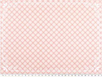 Wunderschöner Mathildas Welt - Baumwoll-Stoff - Blümchen in rosa