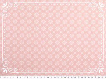 Absolut schöner Baumwoll-Stoff - Sternenblumen in zartem rosa