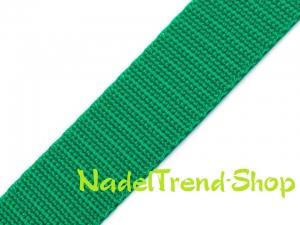 1m Gurtband 20 mm breit grün - Handarbeit kaufen