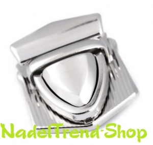 dekorativer Steckverschluss für Taschen in silber oder gold - Handarbeit kaufen