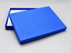 Geschenkbox/Fotobox/Schachtel ☆ Artoz PURE Box A5 ☆ majestic blue/royal blau aus Pappe inkl. Versand plus 1 Gratis-Karte von GRUSSKARTEN.DESIGN