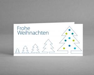 WINTERLICH: Weihnachtskarte