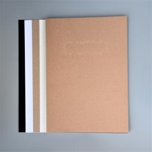 1 BLOCK BASTELKARTON KRAFT mit 40 Blatt 4 Farben von artoz plus Gratis-Karte von GRUSSKARTEN.DESIGN  - kostenloser Versand