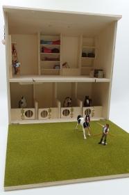 Pferdestall/Bauernhof aus Holz zum Spielen