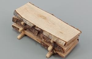 Weihnachtskrippen Zubehör Holzstapel