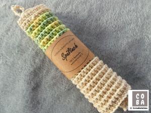 Spültuch, Spüllappen, Spüli, Schwamm, gehäkelt bunt, 100 % Baumwolle nachhaltig umweltbewusst