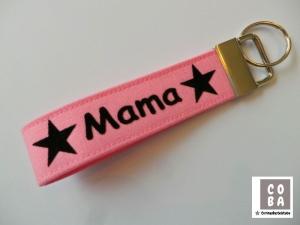 Schlüsselband Schlüssband * Mama *  #mitLiebegenäht  - Handarbeit kaufen