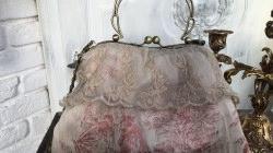 Tasche, Bügeltasche, Vintage, Shabby