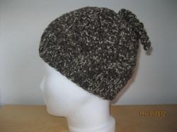 Warme Mütze mit lustigen Spiralen