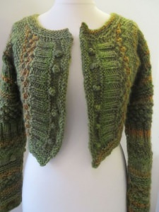 Strickjacke / Bolero