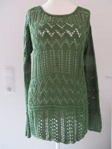 Pullover Sylvia mit einem aparten Ajourmuster - eignes Design