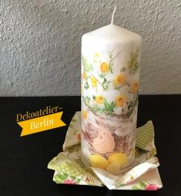 Ostern ♥ Kerze ♥ Ostertisch  ♥ upcycling ♥ Unikat  - Ostern Frühling  - Handarbeit kaufen