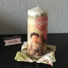 Kerze  ♥ Einzigartig♥ Geschenk ♥ upcycling ♥ Unikat  - Lieblingsmensch - Handarbeit kaufen
