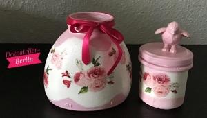 2er Set Teelichtglas ♥ Herzen ♥️ Geschenk ♥️ upcycling ♥ Unikat - Love  - Handarbeit kaufen