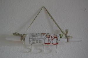 Küchenhaken ♥ shabby chic ♥️ einzigartiges Geschenk ♥️ Unikat -  Köche - Handarbeit kaufen