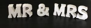 BetonBuchstaben Buchstaben Beton personalisierbare Deko -  MR & MRS - Handarbeit kaufen