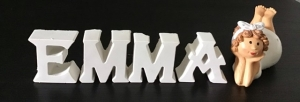 BetonBuchstaben Buchstaben Beton personalisierbare Deko - Wunschbuchstaben - Handarbeit kaufen