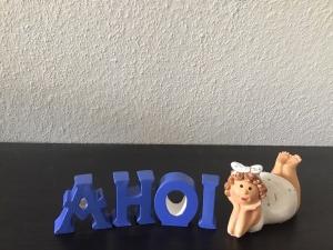 BetonBuchstaben Beton Buchstaben personalisierbare Deko - AHOI  farblich  - Handarbeit kaufen