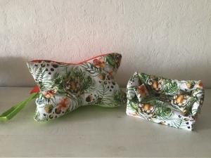 Deko-Sofa ❤️ Kosmetikbox Sofa ❤️ Taschentücherbox Sofa ❤️ Unikat - Löwe - Handarbeit kaufen