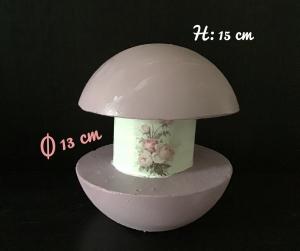 Betonleuchte ♥ Einzigartig ♥️ Geschenk ♥ Vintage ♥ Unikat  -   Rosen vintage - Handarbeit kaufen
